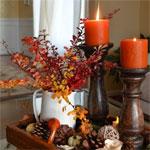 Осенняя декорация квартиры!