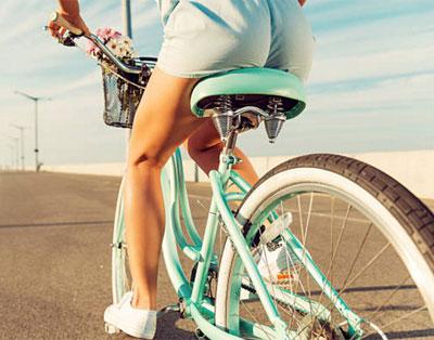 картинки езда на велосипеде