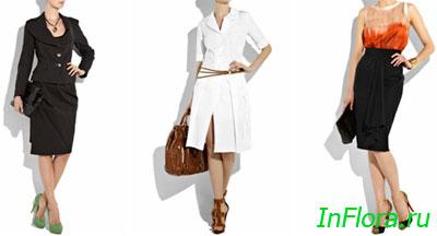 Деловые юбки, юбки для деловой женщины