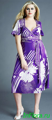 Anna Scholz - мода для полных лето 2010
