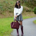 Резиновые сапоги - стильный осенний тренд!