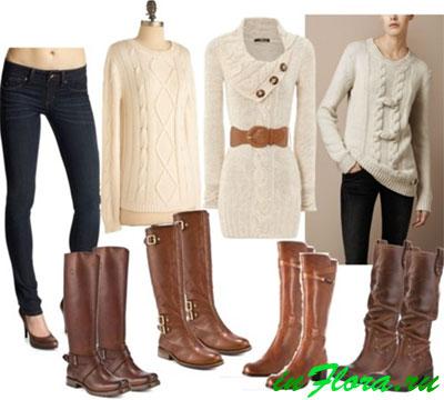 Модные сапоги зима 2016!