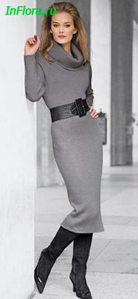 стильные платья в пол с рукавами