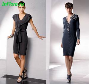 Трикотажное платье: одежда для любого случая » Женская красота и