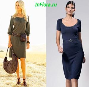 Платья Knitted-dress13