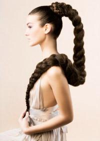 Прически для бабушек с длинными волосами фото