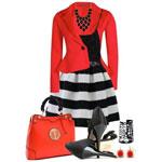 Стильный весенний гардероб: красный фаворит!
