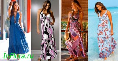 Модные летние сарафаны 2010 - «Lady in red