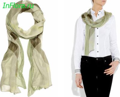 Среди аксессуаров лишь сумка может соперничать по популярности с шарфом.