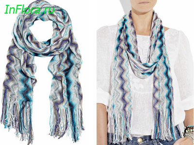 платки шали шарфы