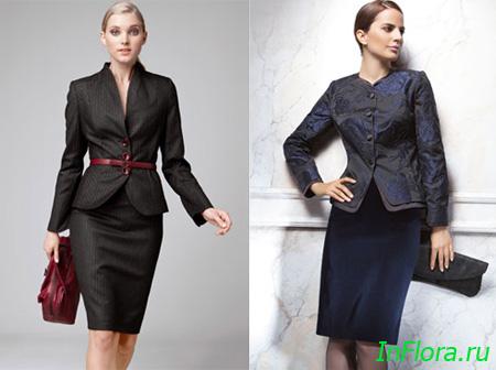 Деловая женщина знает, что юбка - это часть её имиджа.