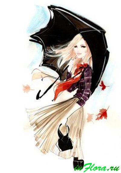 Осенние фантазии уличной моды!