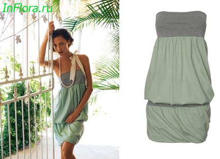 Модные платья весна-лето 2012   Супербрюнетка