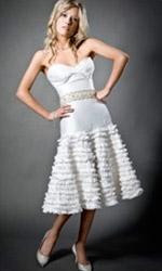 Короткое вечернее платье в стиле ампир выкройка.