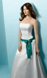 Модные свадебные платья осень-зима 2009-2010