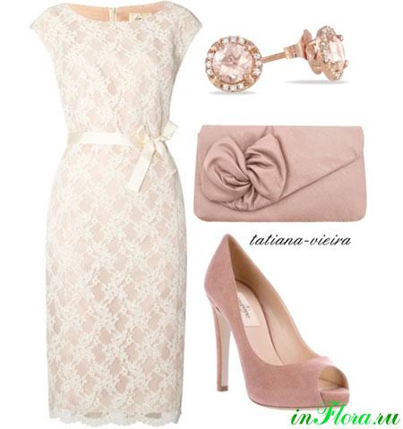 Белые платье 2013