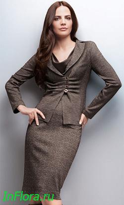 Женские Костюмы Для Офиса 2015, Вязаные Пуловеры Для Женщин
