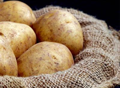 картофель для глаз