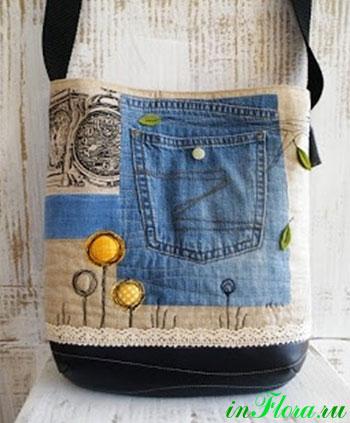 36d34fd24478 джинсовые сумки своими руками